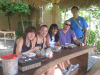 breakfast, coffee plantation, luwak coffee bali