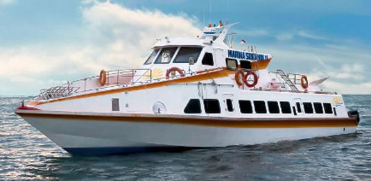 marina srikandi fast boat, fast boat to gili