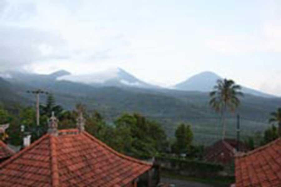 munduk sari view, munduk village view