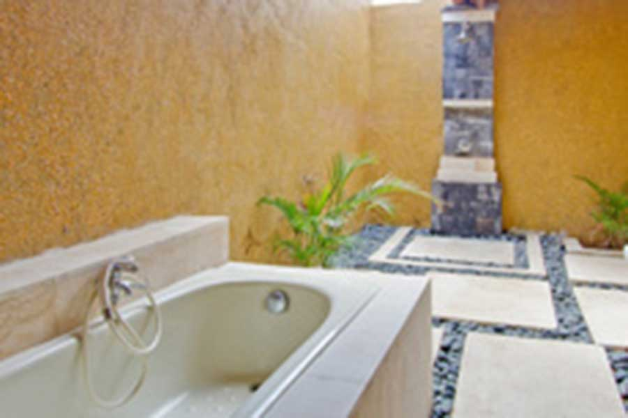 tanis villa, room facilities, nusa lembongan