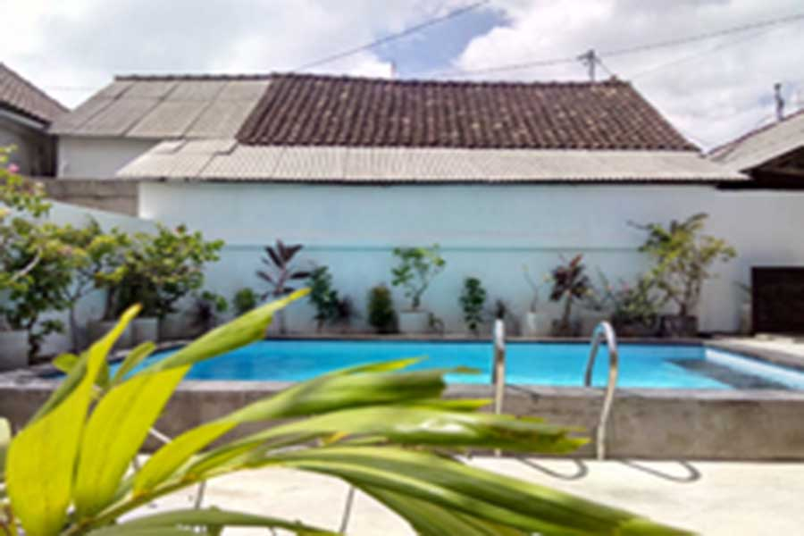 outdoor swimming pool, pantai bungalow