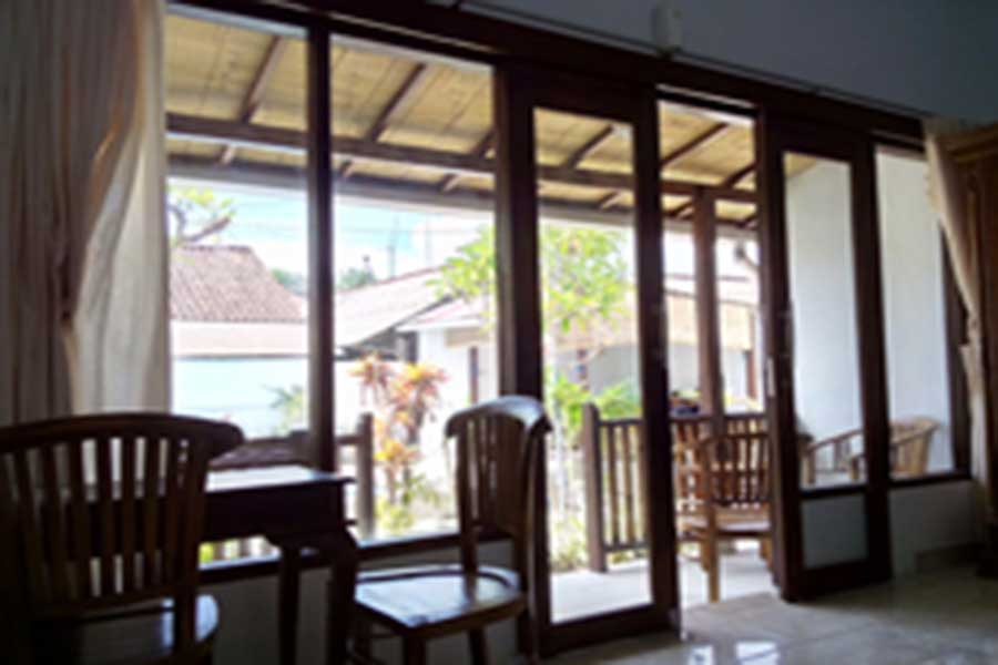 seating area, pantai bungalow