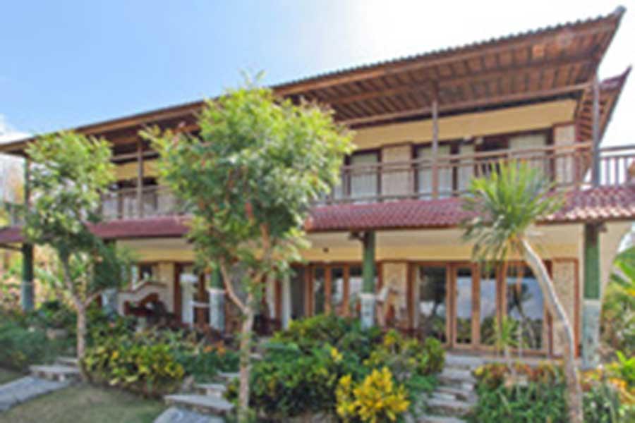 exterior view, tanis villas, nusa lembongan