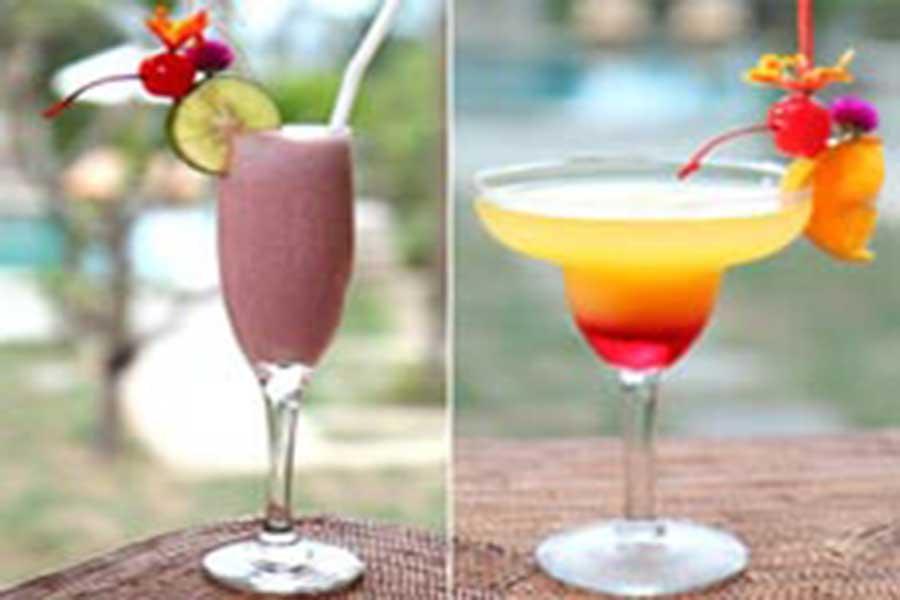 villa menu, lembongan cliff villas, nusa lembongan