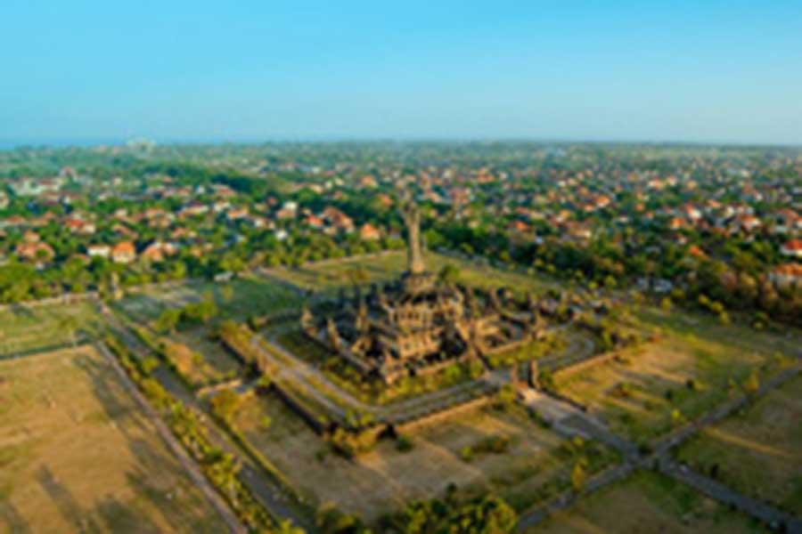 bajra sandhi monument at renon denpasar