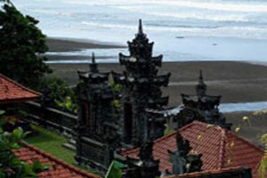 rambut siwi, beach temple, bali