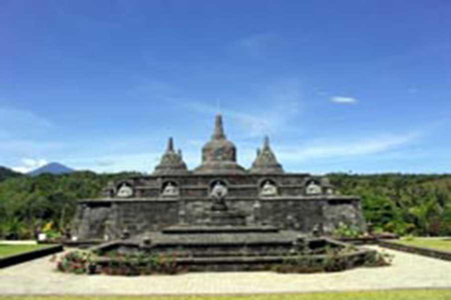 monastery, bali, buddhist
