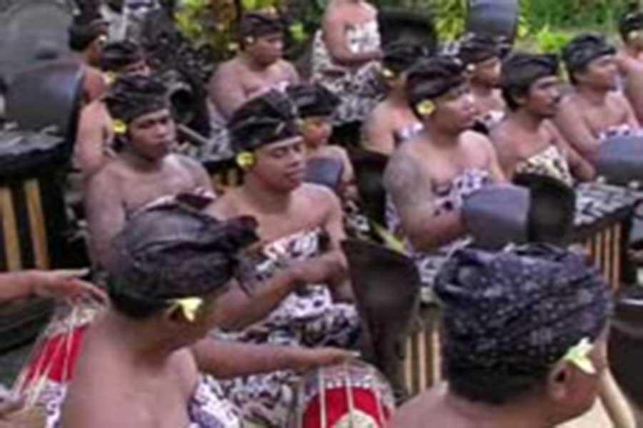 gamelan bali for odalan day