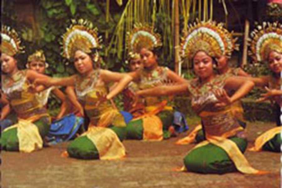 balinese janger dance