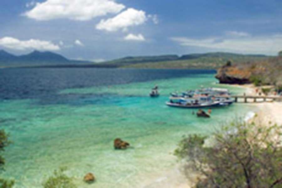 menjangan island west bali view