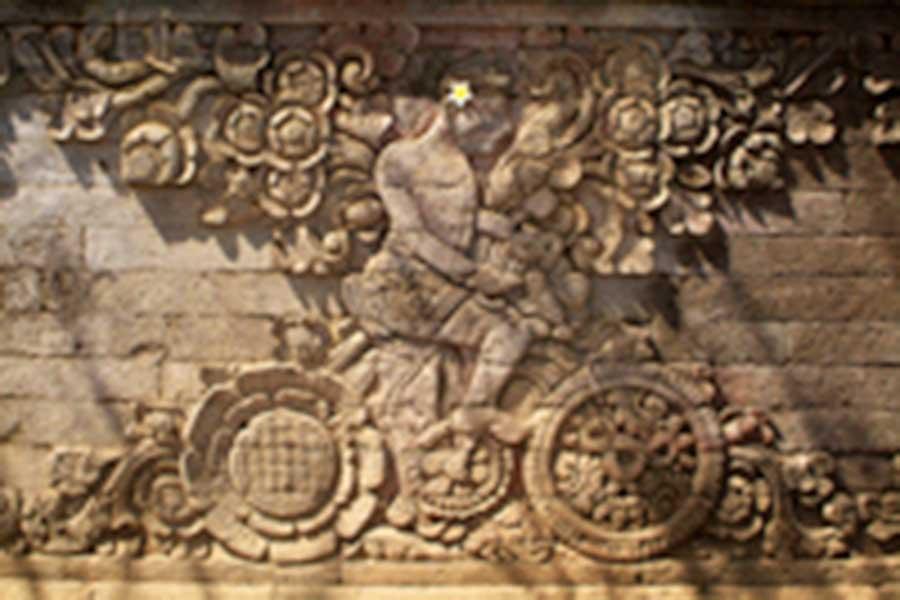 maduwe karang temple relief, bali, temple