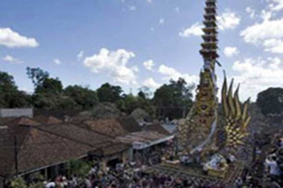 royal cremation procession