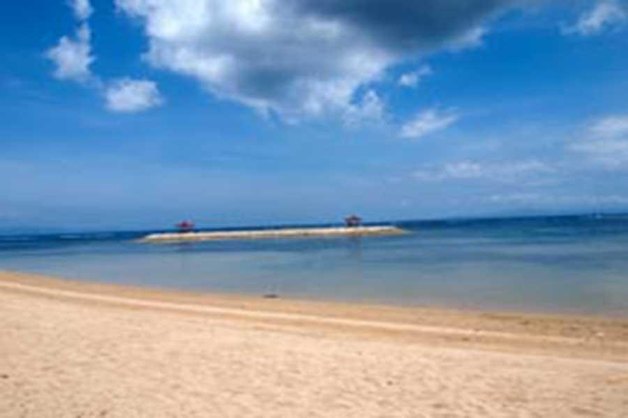 sanur beach, bali, denpasar