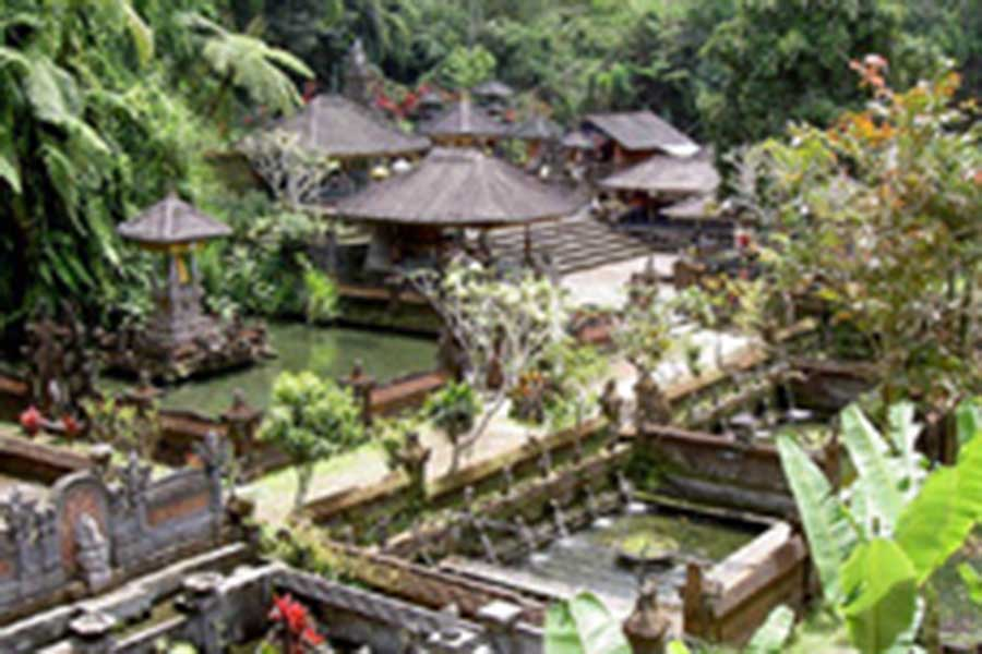 sebatu temple view at tegallalang