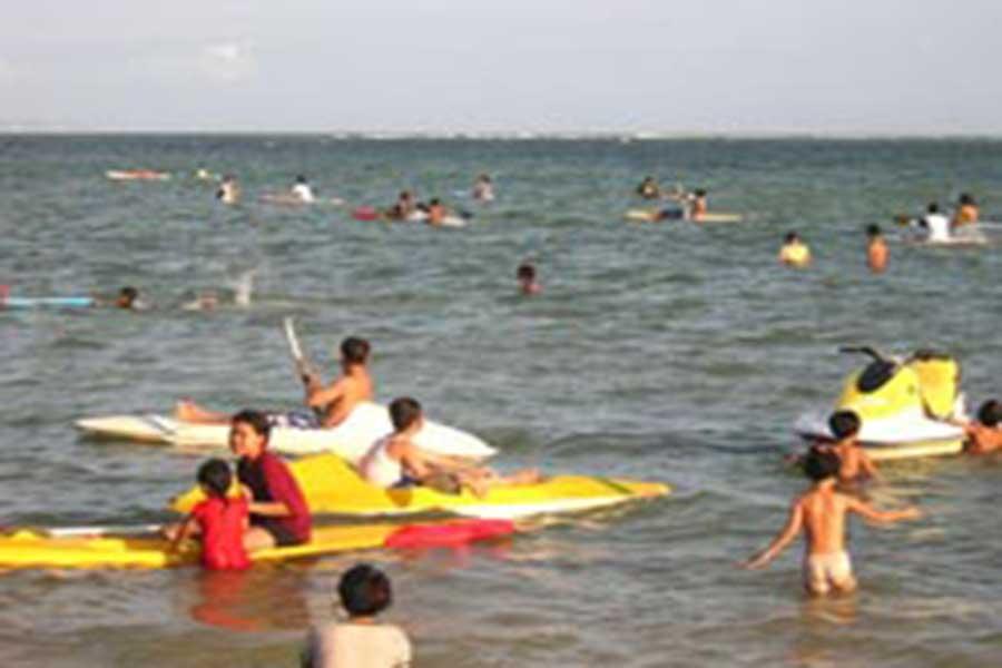 sanur beach, denpasar, bali