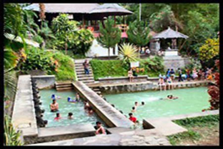 banjar hot spring, bali interesting places