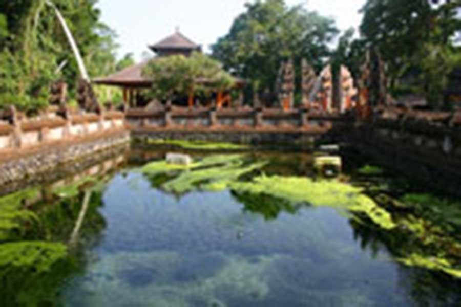 tirta empul holy water, bali temple
