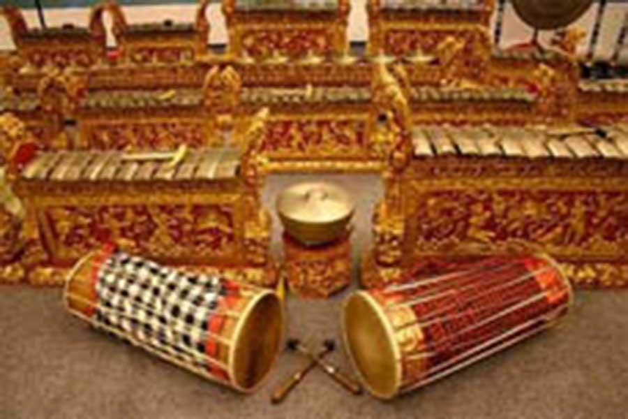 tihingan village, balinese music, klungkung regency