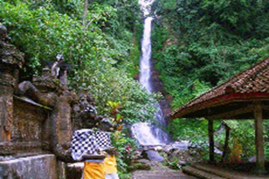 singaraja waterfall, gitgit bali, bali waterfall