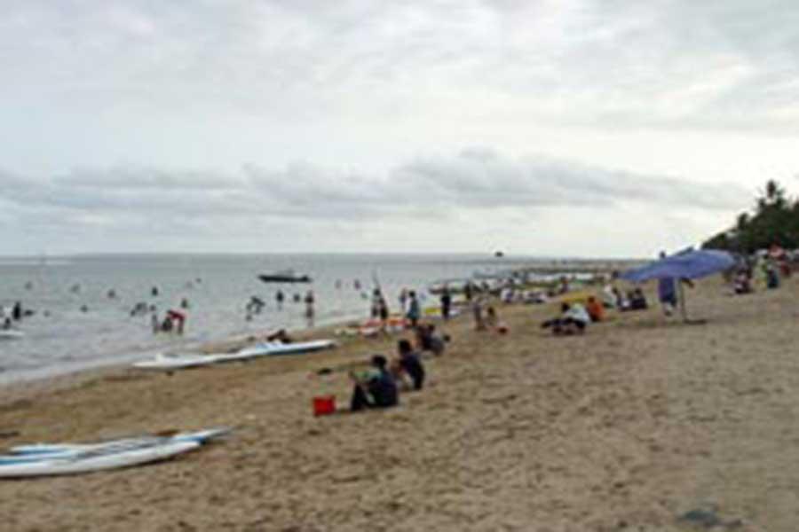sanur beach, white sand, beach