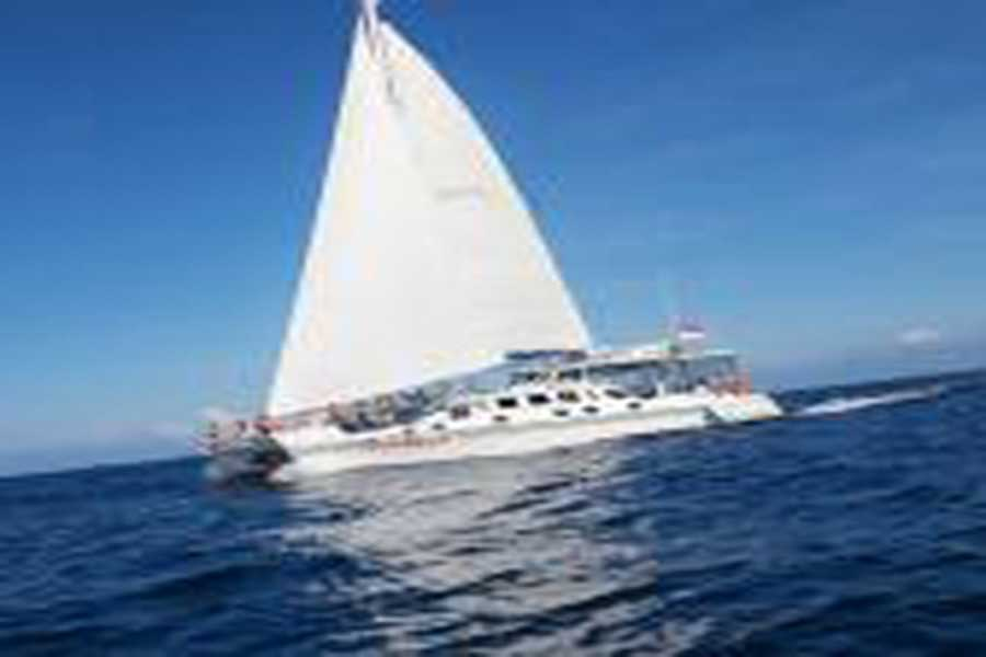 aristocat sailing catamaran, bali hai cruises