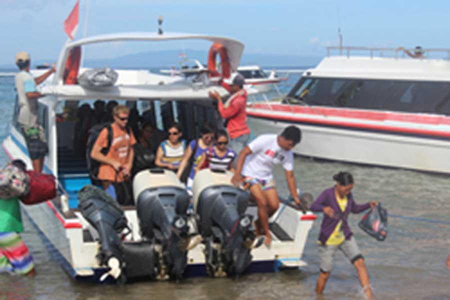 sanur jetty, lembongan fast cruises, sari nusa