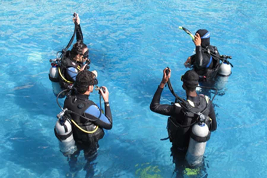 dive course, padi international, bali dive