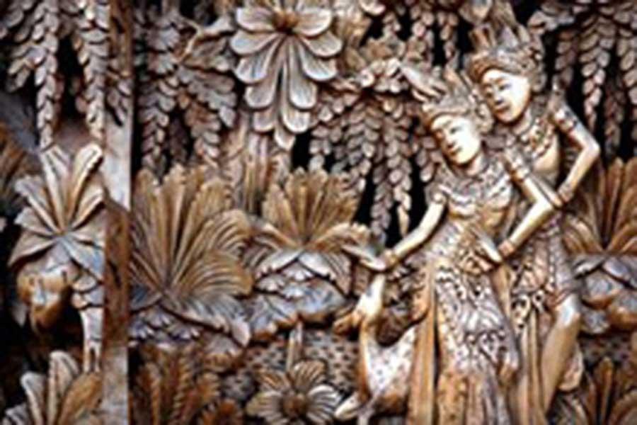 wood carving, mas village, sightseeing bali, visiting bali