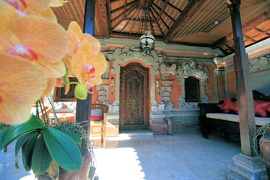 balinese style house, mambal balinese house