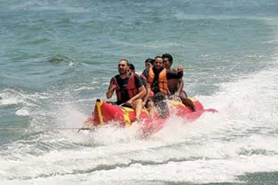 banana boat, nusa dua water sports, bali water sports