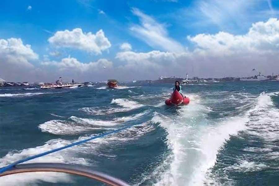 banana boat ride bali