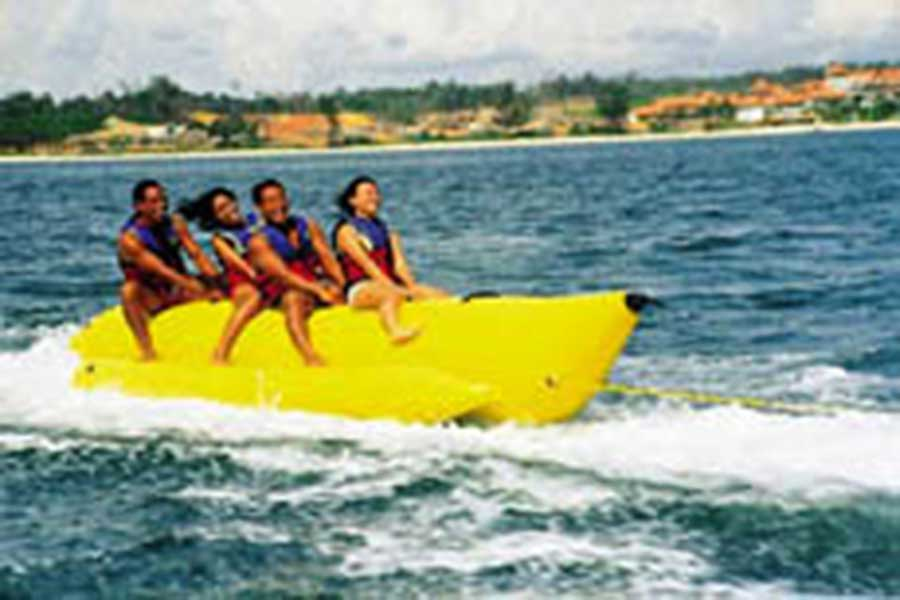 banana boat, bali water sports, watersport
