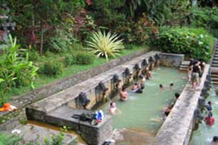 banjar hot spring, bali hot spring, sightseeing bali, visiting bali