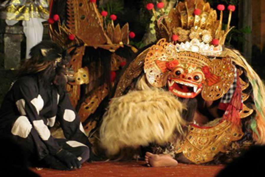 bali tour, barong dance