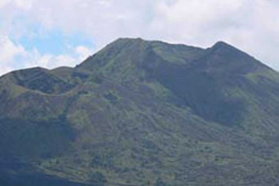 batur caldera view bali