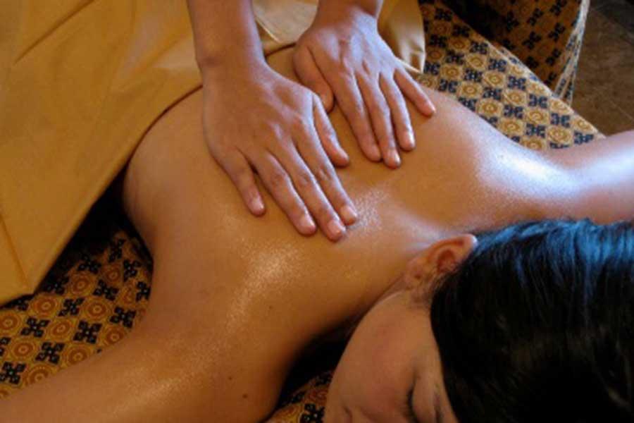 body massage, bali ratu spa, spa in bali
