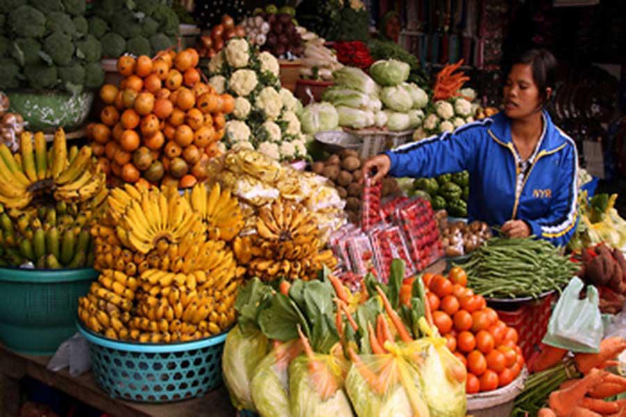 candi kuning, fruit market bali, bedugul tour
