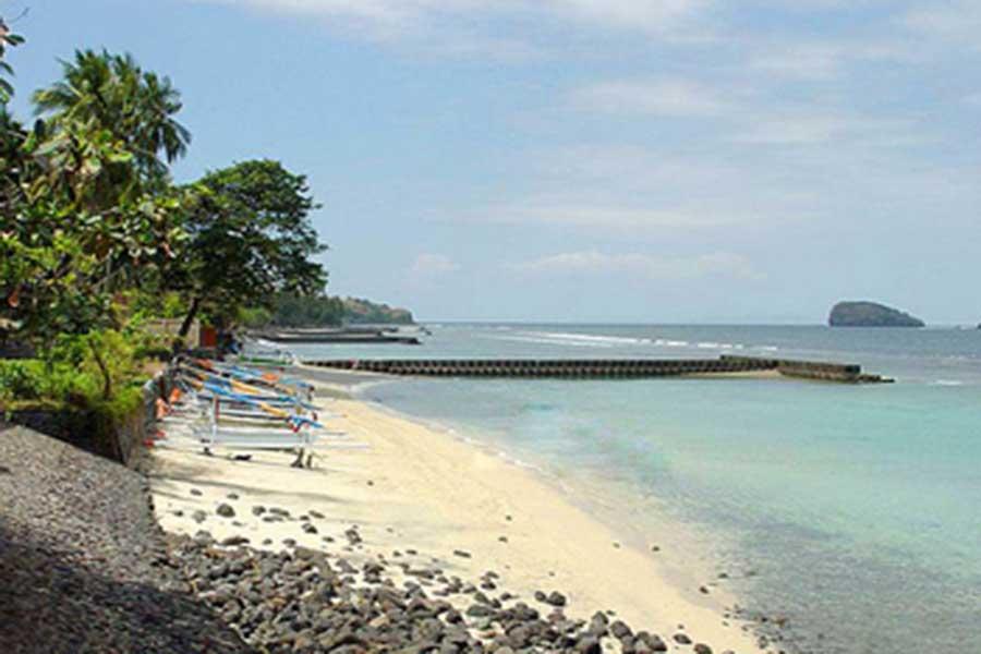 candidasa, beach, bali