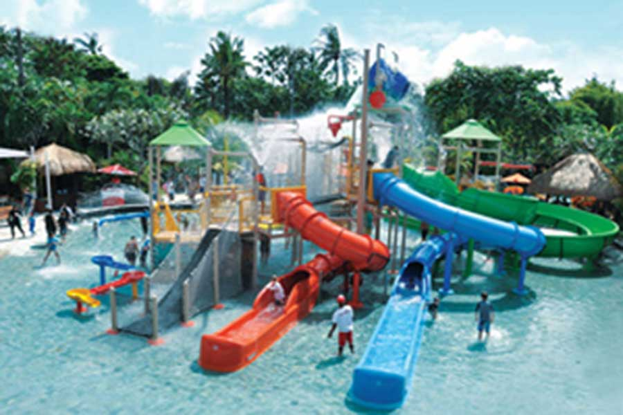 children park, waterbom bali