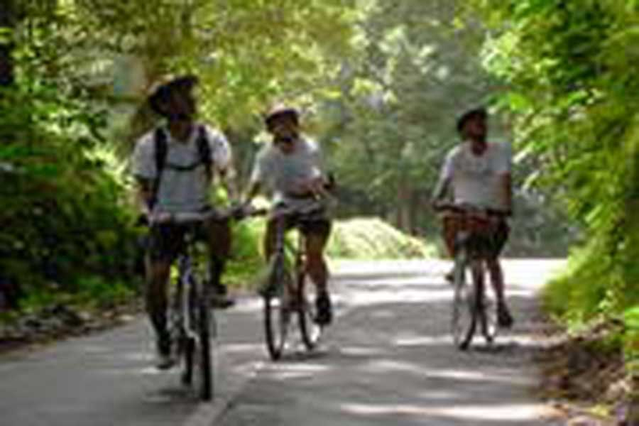 village cycling, bali cycling tours