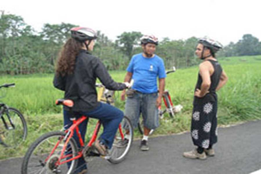 downhill cycling tour, bali on bike