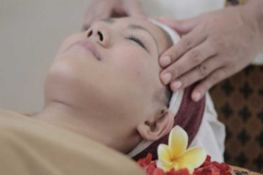 face massage, bali ratu, spa relaxation