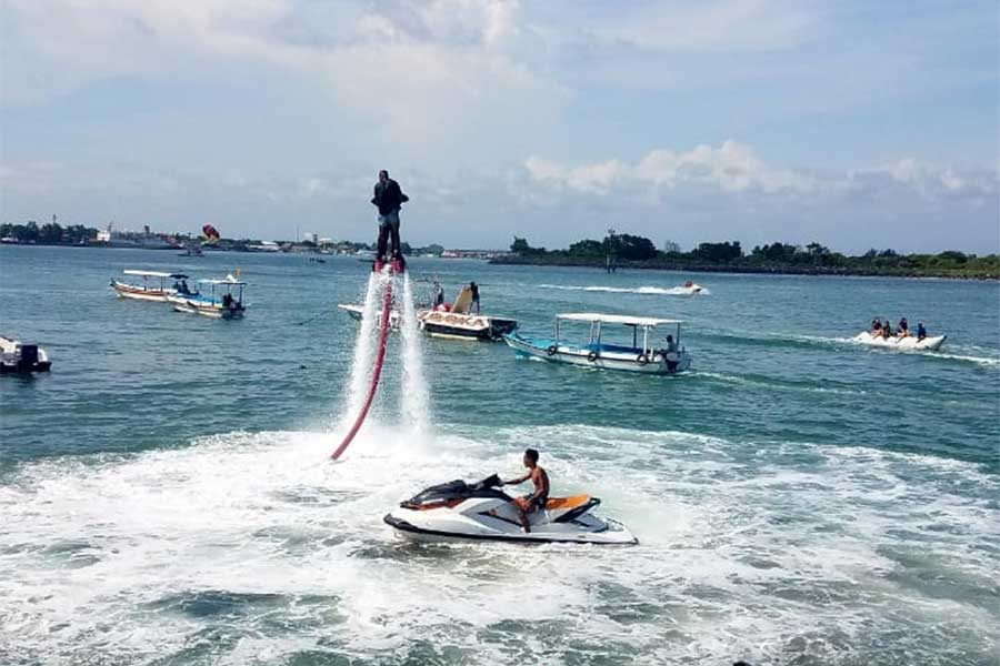 fly boarding, nusa dua water sports