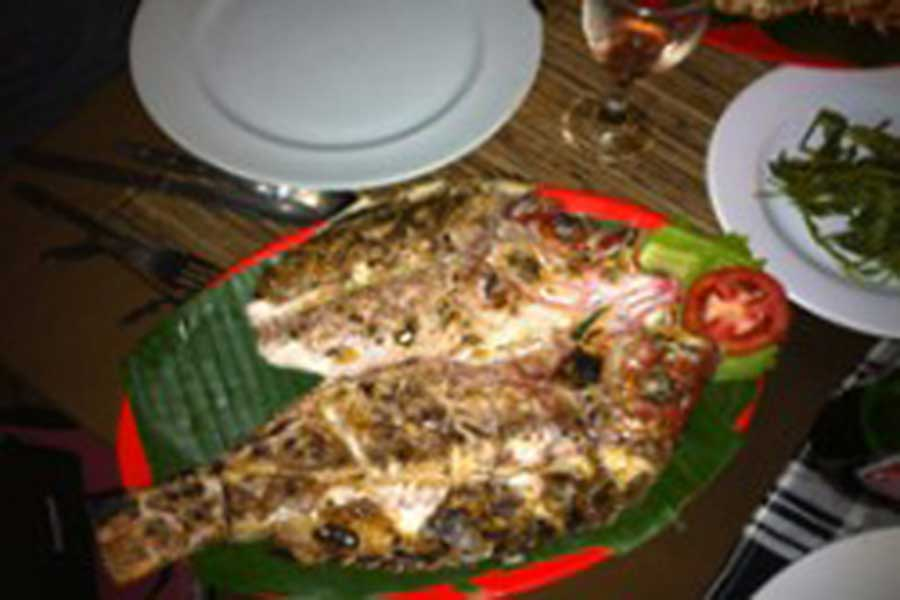 seafood, jimbaran, dinner, bali