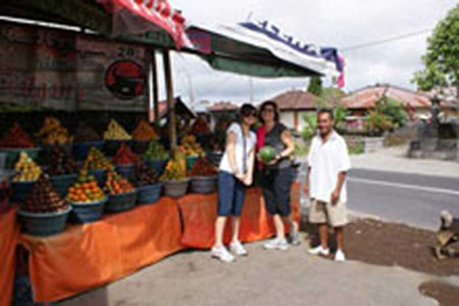 fruits market, cycling tour, what to do in bali, bali activities