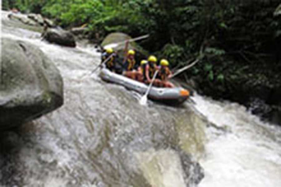 wild rafting, ayung river rafting, white water rafting
