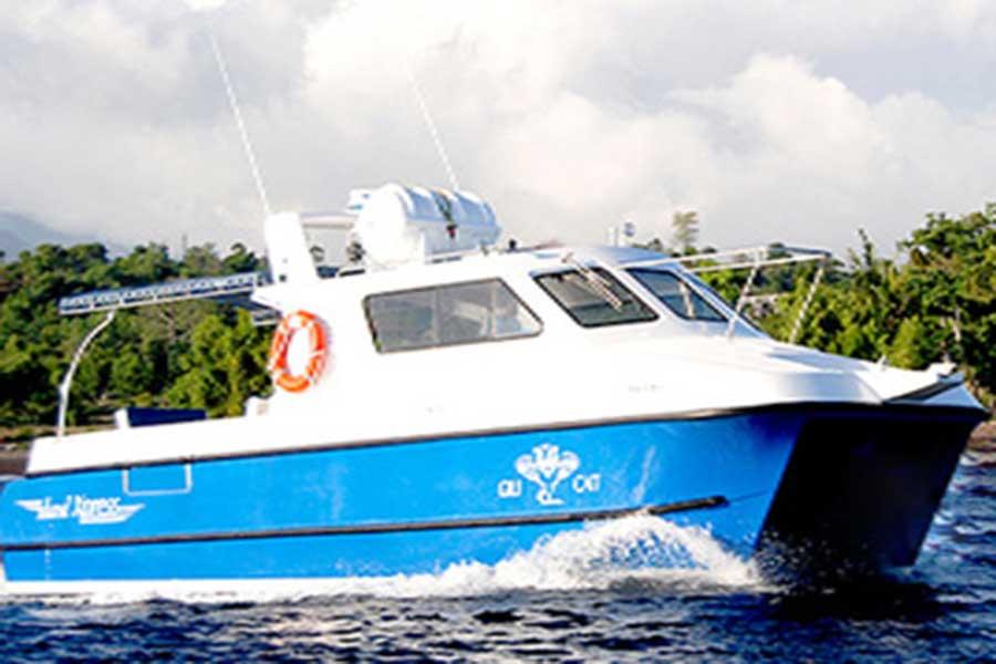 gili cat, fast boat, gili island
