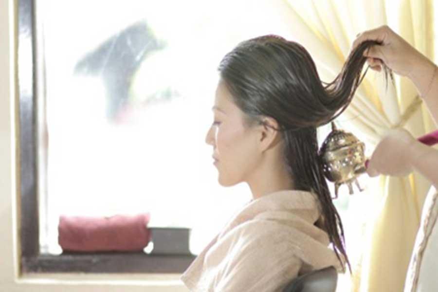 hair cream bath, bali ratu, spa bali