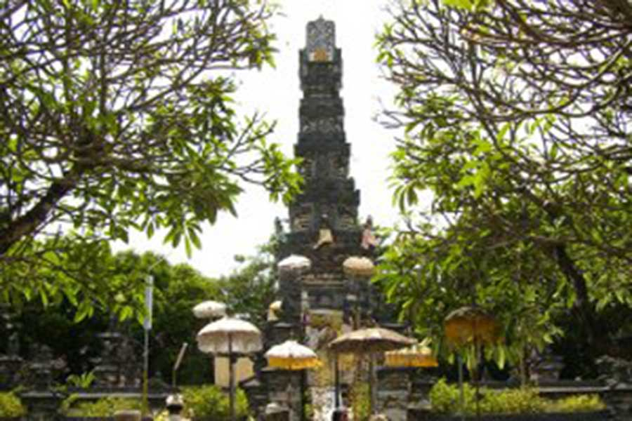 jagat natha temple, denpasar
