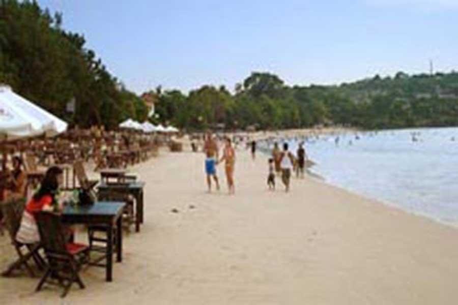 jimbaran bay, dinner, bali, restaurant